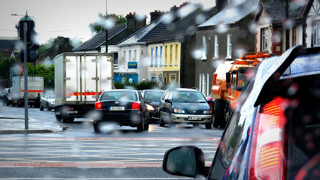 waiting at the crossroad in Galway