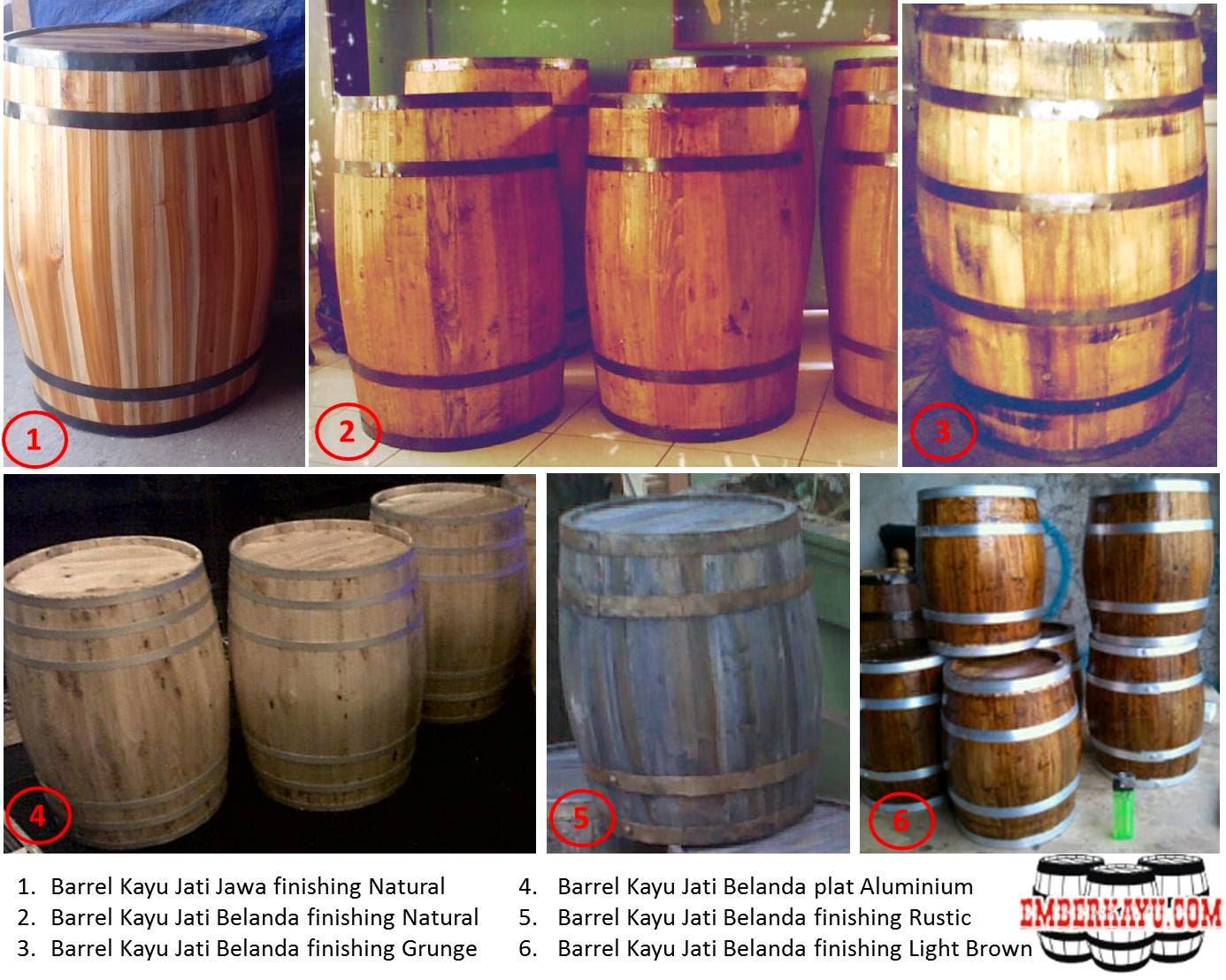 barrel kayu, drum kayu, gentong kayu, tong kayu, tahang kayu