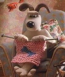 Pup Knitting