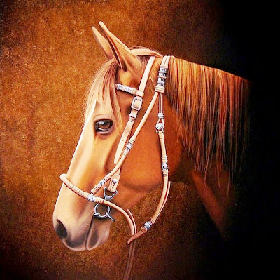 pintura-realista-caballo