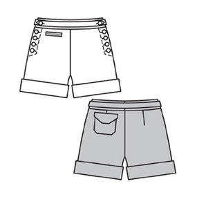 summer shorts pattern