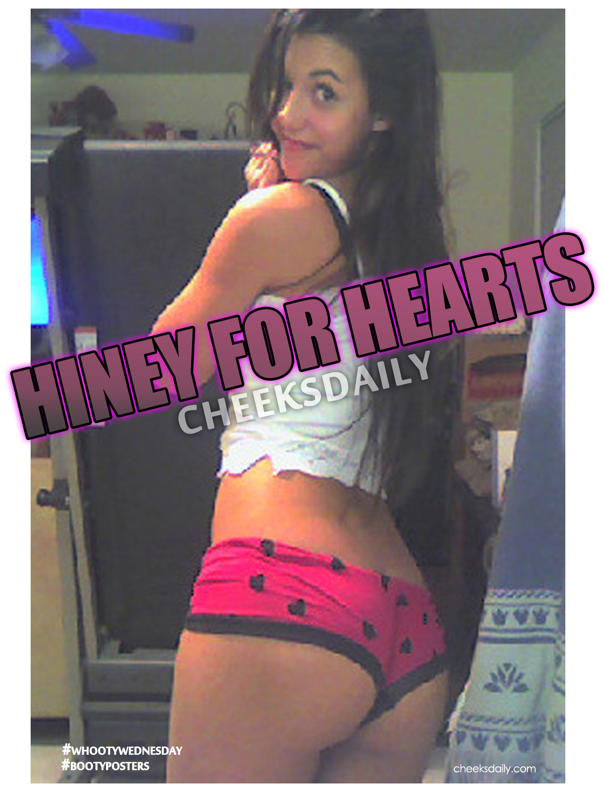 sexy panties filled with booty hearts cheeksdaily