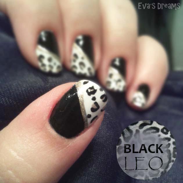 Nails of the week: Black Leo Nails