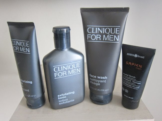 Clinique for Men and Surya Brasil Sapien Skincare ranges