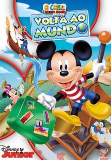 A Casa do Mickey Mouse: Volta ao Mundo - DVDRip Dublado