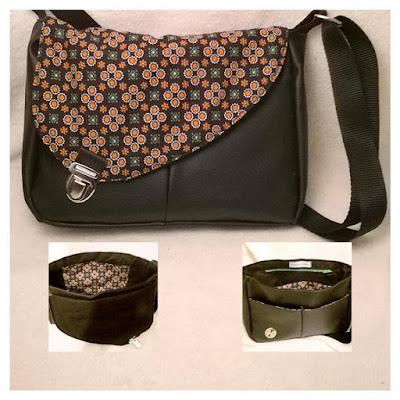 Sac couture et cousette - Tuto sac bandouliere avec rabat ...