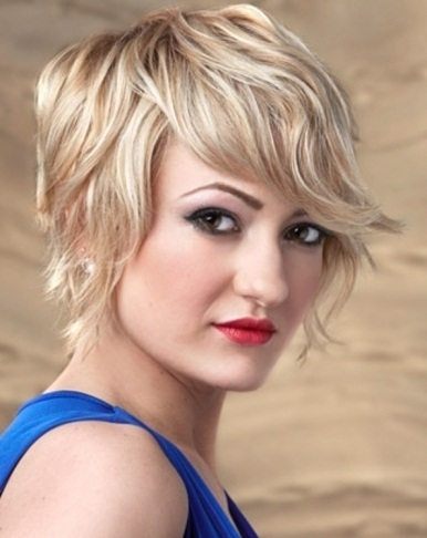 Chic Short Choppy Bob Hair Style 2014