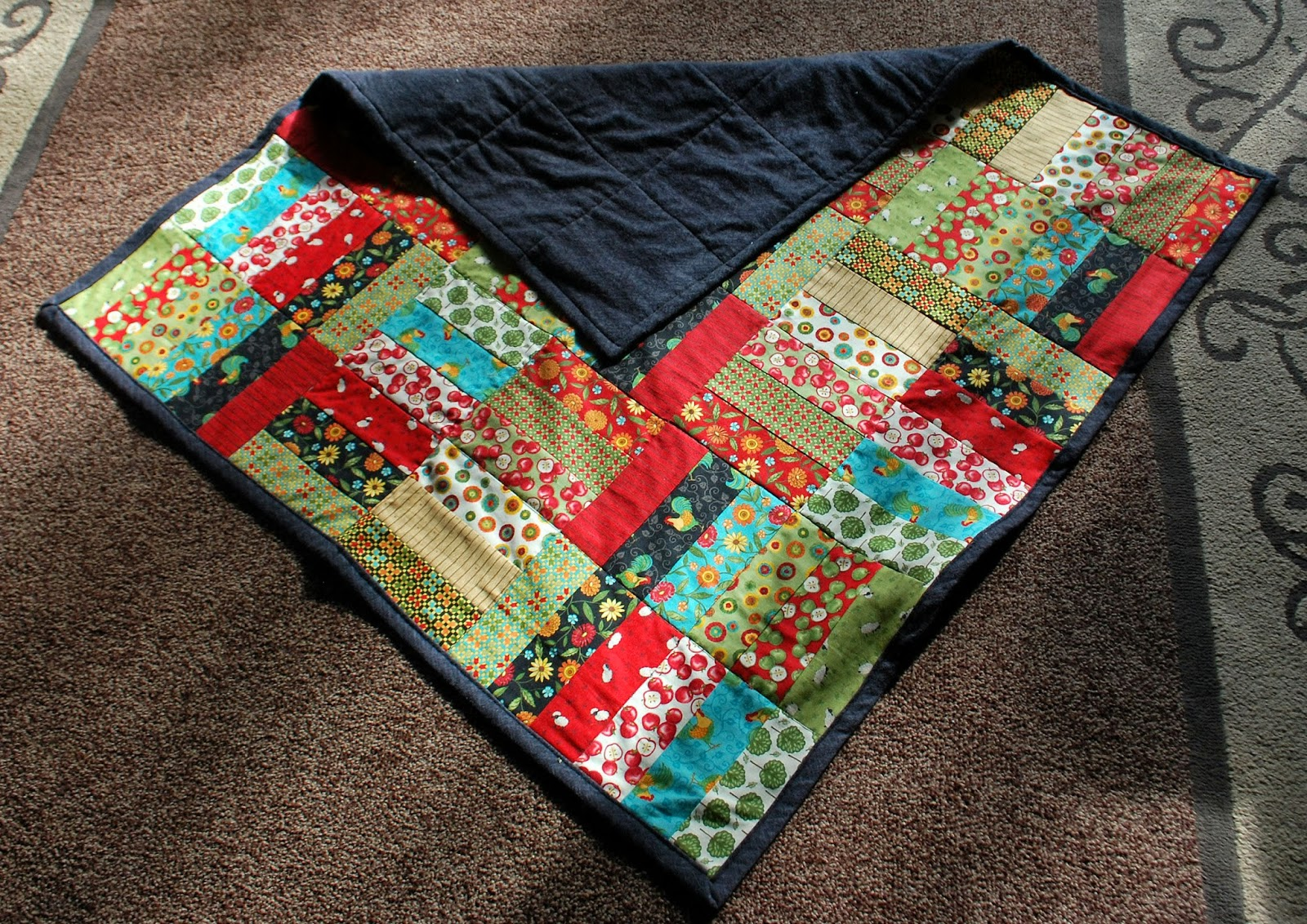 Girasole Farm Jelly Roll Jam Quilt New Aprons