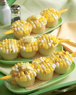 Cupcake festa junina de milho verde