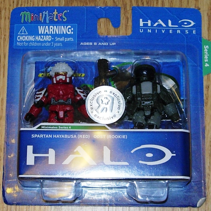 Halo Minimates Series 3 Halo Minimates Series Four