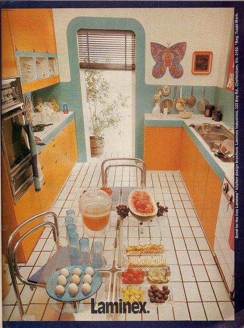 Ideas deco cocinas a os 50 s y 60 s - Cocinas retro anos 50 ...