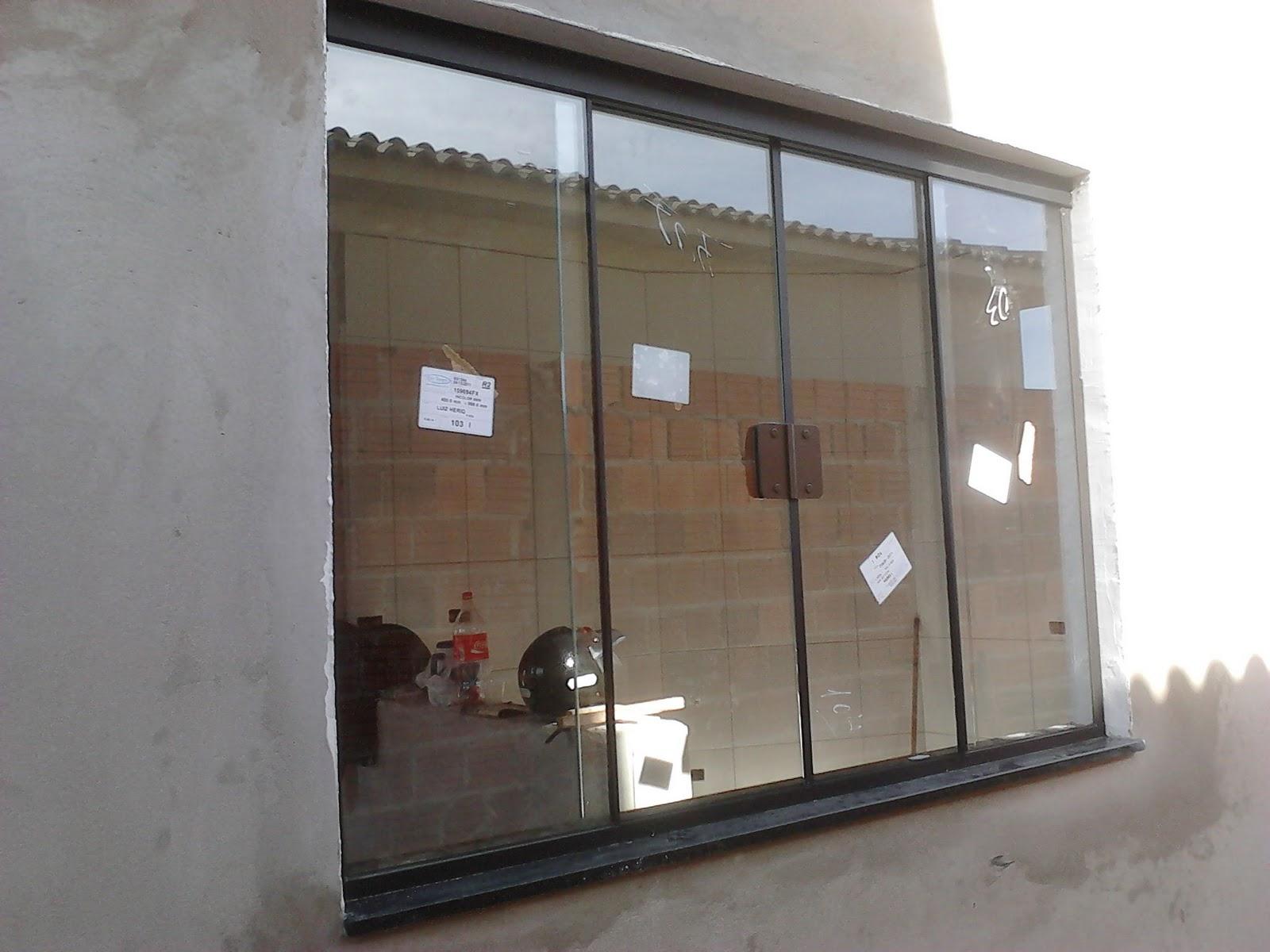 #5F4D41 FRANCO VIDROS TEMPERADOS: Obra em Ourinhos  116 Janelas De Vidro Em Sao Luis Ma