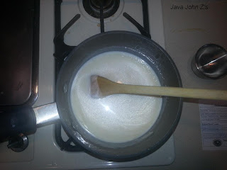 Making Cream Sauce