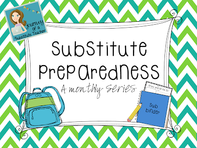 Journey of a Substitute Monthly Series
