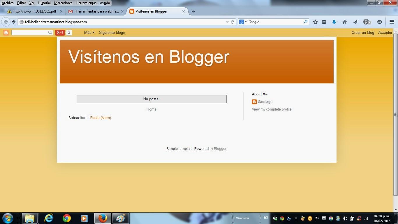 Denuncia: Inconcebible lo que permite Blogger y Google img1
