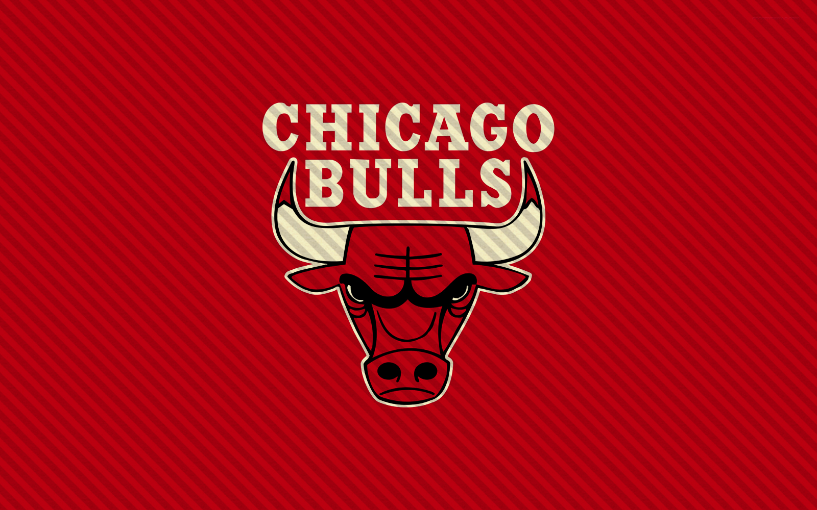 Chicago Bulls Logo Red Background Lines HD Wallpaper NBA Basketball Team