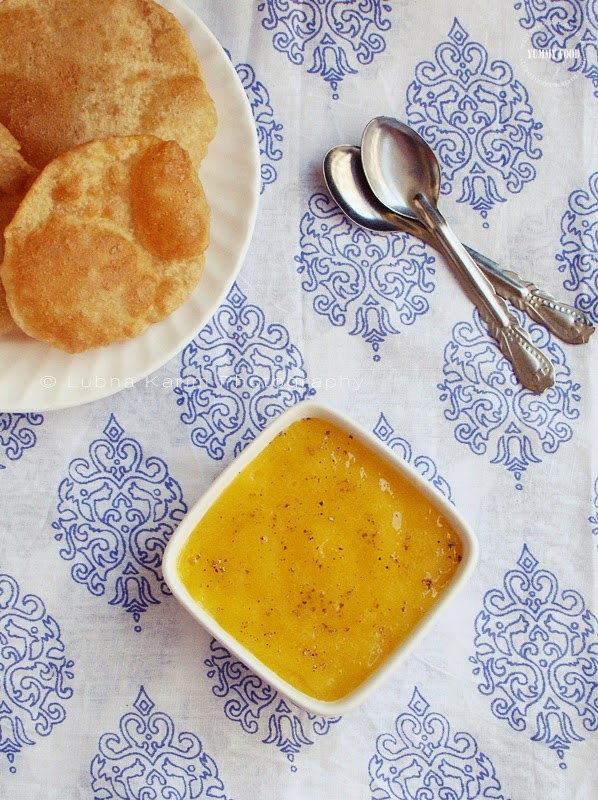 dad's favourite aamras with khoya