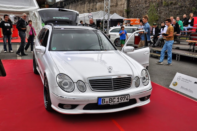mercedes s211 tuning
