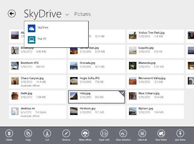Windows 8.1 - SkyDrive