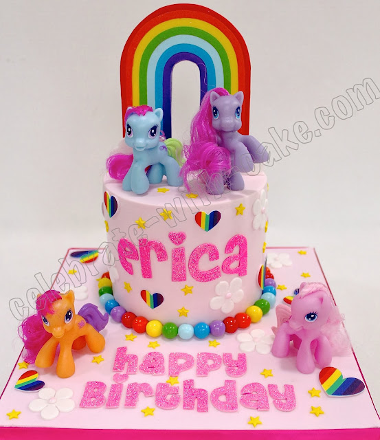 Celebrate With Cake My Little Ponies