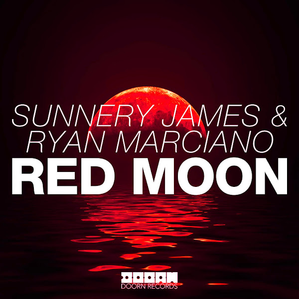 Sunnery James & Ryan Marciano - Red Moon - Single Cover