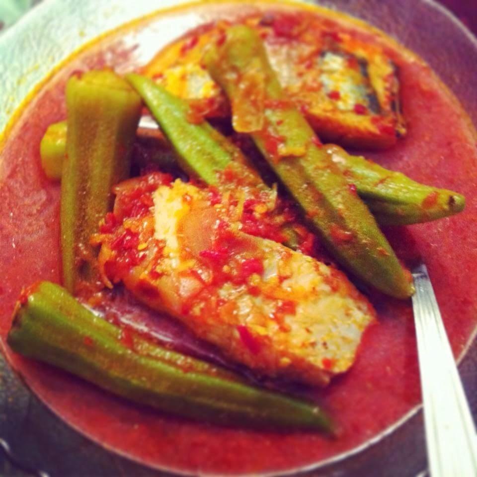 masak asam ikan parang dan bendi
