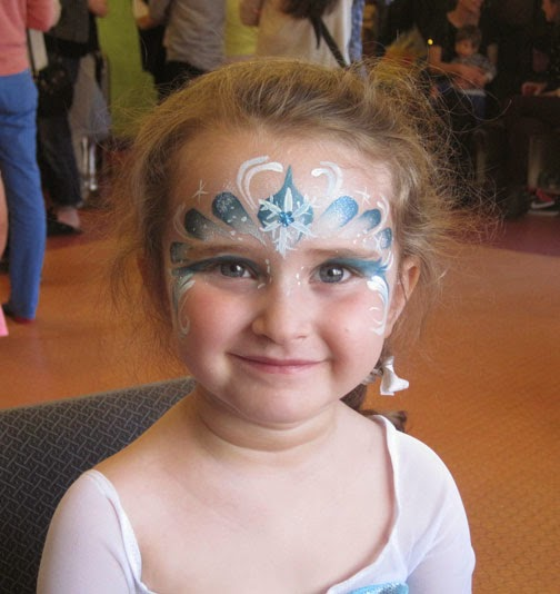 Expressions face painting frozen party for Frozen face paint