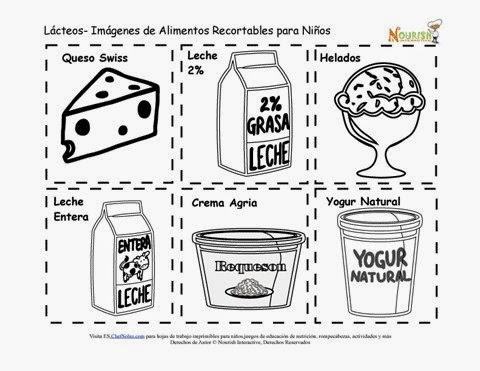 Alimentos recortables