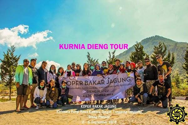 peserta kurnia dieng tour