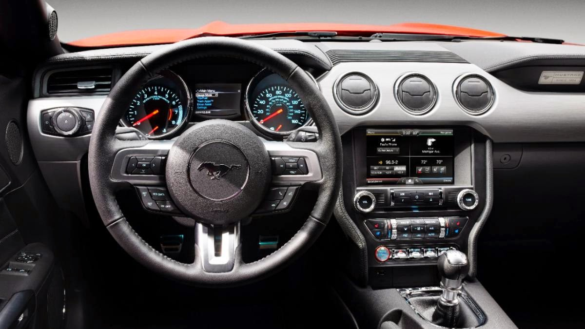 News - 2015 Ford Mustang first drive ride