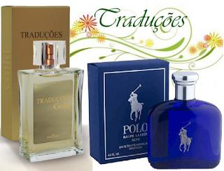 Essência do Perfume Polo Blue   Traduções Gold nº 29 Masculino