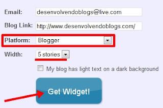 get widget