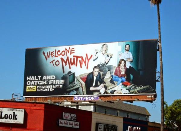 Halt and Catch Fire season 2 billboard