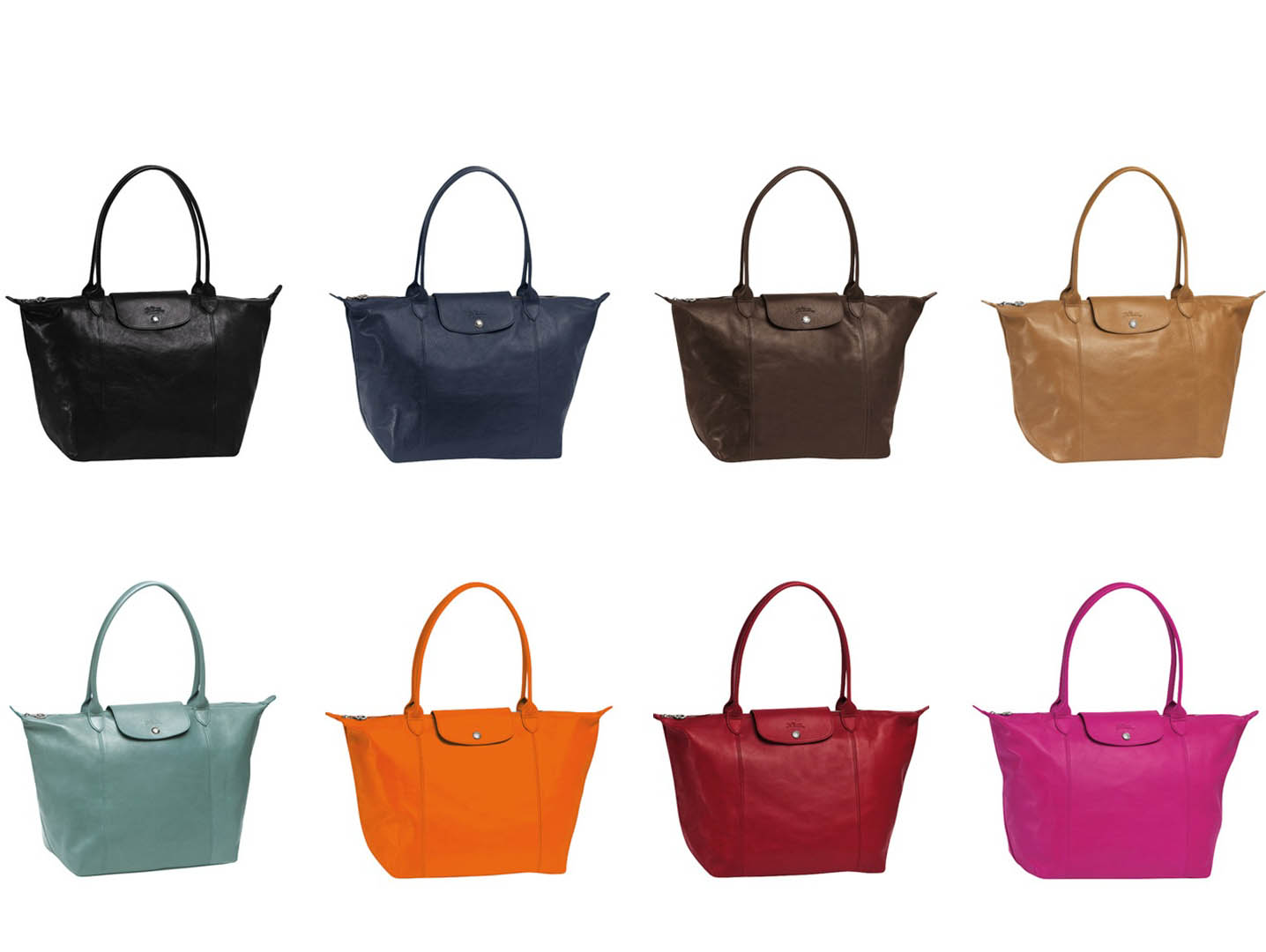 bagfetishperson  bright colourful longchamp ss 2012 collection