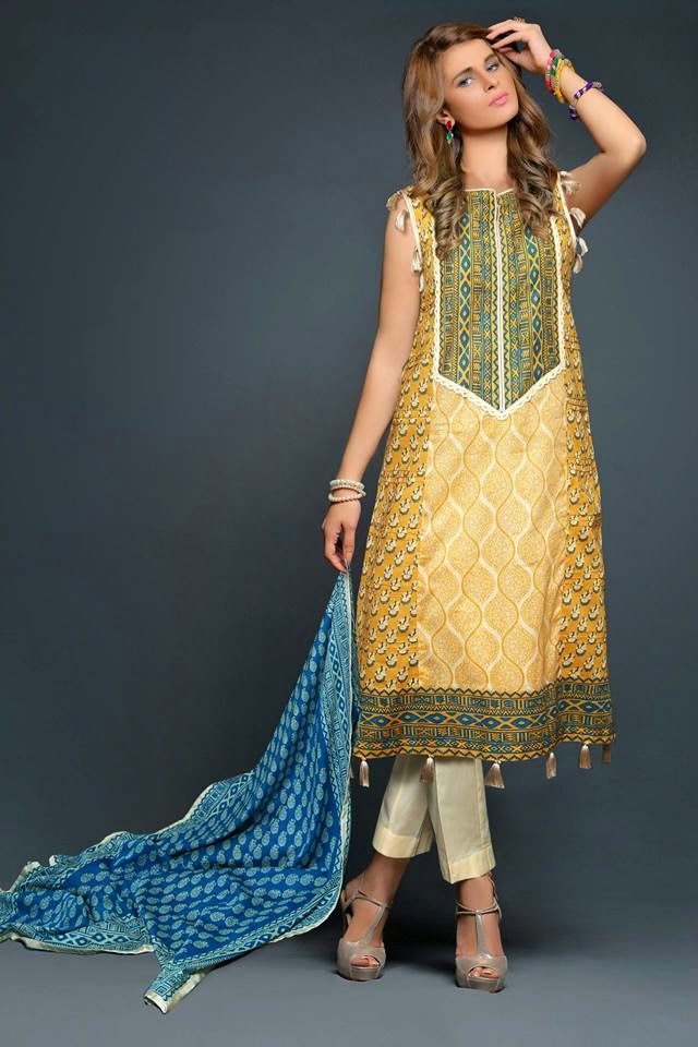 Summer Parsa Lawn Dresses 2015