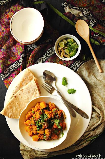 how to cook Soya bean er Torkari