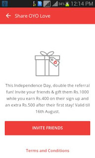 OYO free cash Offer