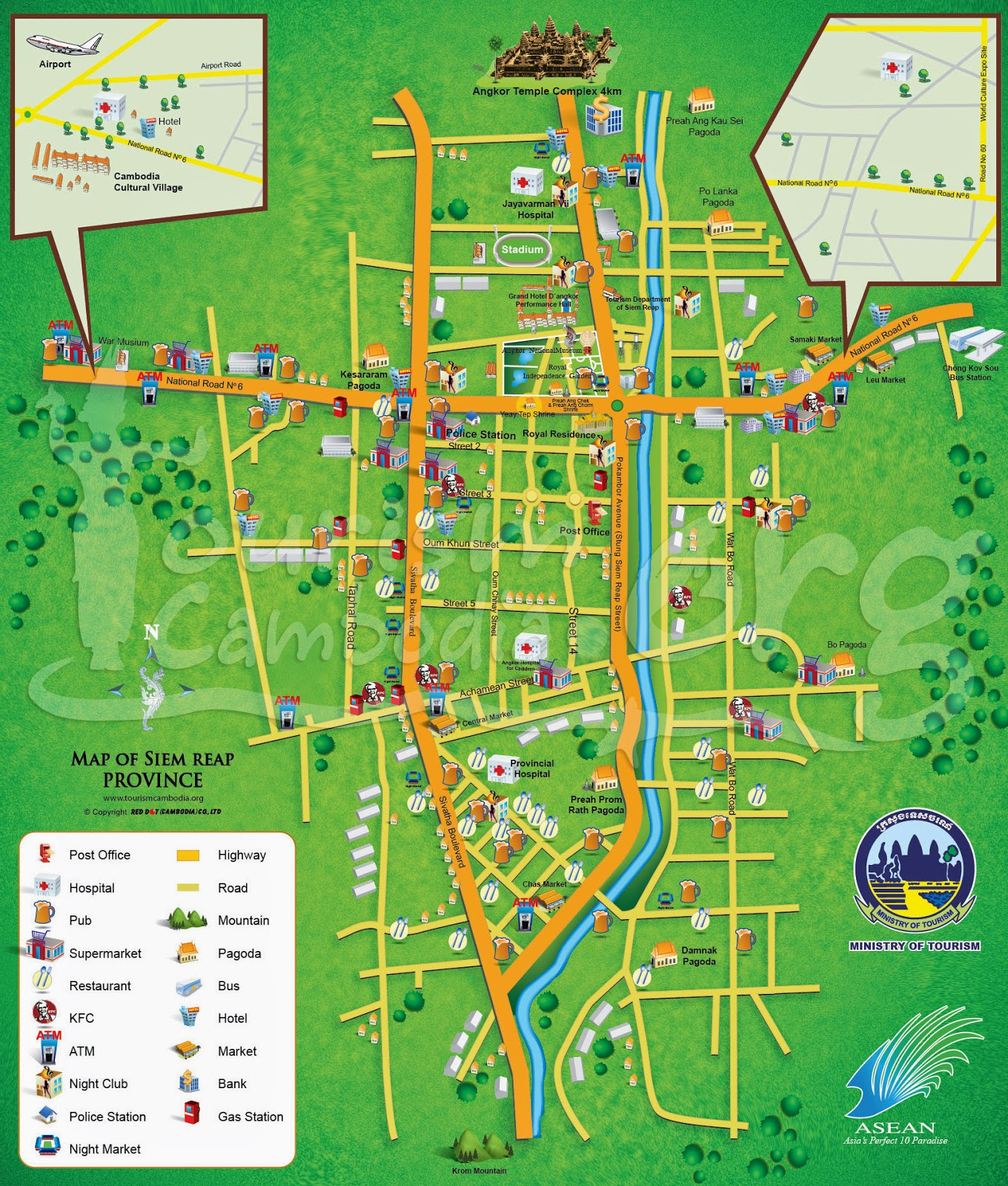 Viaje a Camboya (III). Siem Reap