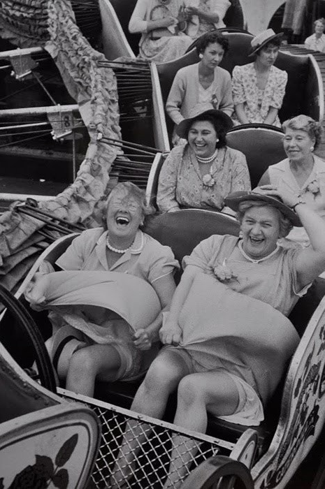 Best Day Ever! #vintage #laughing #photograph #1940s #1950s