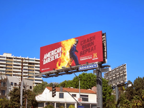 American Daredevils season 1 billboard