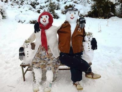 Αστείοι χιονάνθρωποι-8