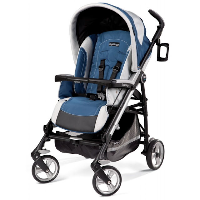 review for peg perego pliko four stroller pegperegousa. Black Bedroom Furniture Sets. Home Design Ideas