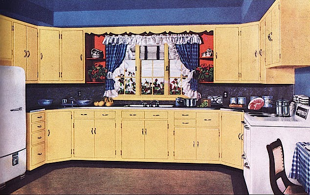 1950 Kitchen New Jeni Sandberg  20Thcentury Design Kitchen Archaeology Decorating Design
