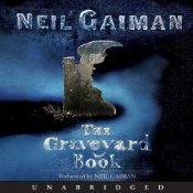 Book cover of The Graveyard Book by Neil Gaiman
