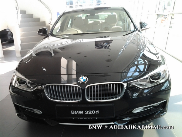 CDM Adibah a premium beautiful top online agent at BMW to buy new F30 as for business car
