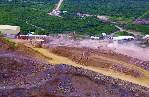 Okorusu Fluorspar Mine Namibia