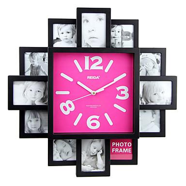 Reloj de pared con diseño de moda y función de marco de fotos ...