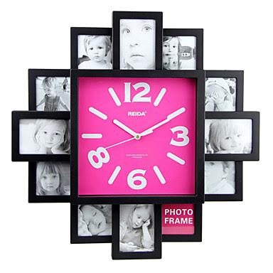Reloj de pared con dise o de moda y funci n de marco de - Reloj pared diseno ...