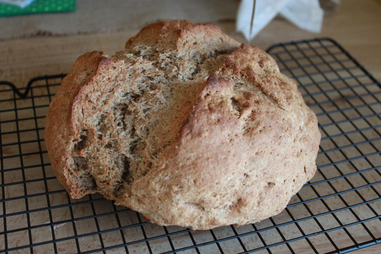 schätzli vintage: blog: March's Loaf - Irish Brown Soda Bread