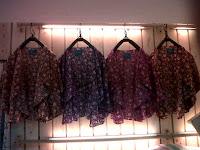 kardigan motif bunga, floral, flower, katun, online shop bandung